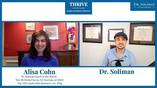 THRIVE with Alisa Cohn. How Can Startups Survive Crises and Uncertainty?