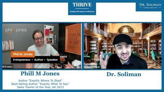 THRIVE with Phil M. Jones. How To Rise After A Setback?